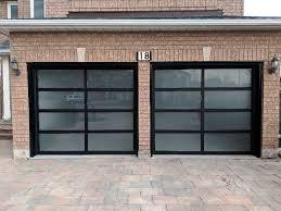 full glass garage door manufacturer