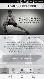 performix workout app 1 5 free