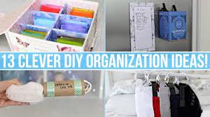 Diy Organization 13 Clever Diy Home Organization Ideas Youtube