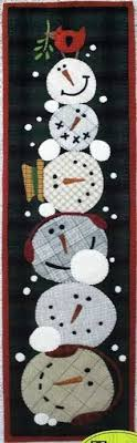 Frosty Mugs Wool Applique Quilt Pattern by Threads That Bind ... & Frosty Mugs Wool Applique Quilt Pattern by Threads That Bind Adamdwight.com