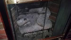 bat in fireplace