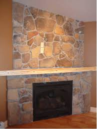 tv on stone fireplace mount