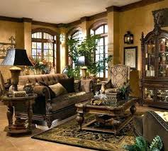 Tuscan Inspired Living Room New Decoration