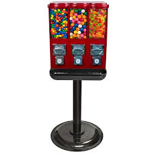 Vending Gumball Machine Awesome Titan Triple Vend Machine Gumball