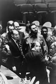 fidel castro castro at the united nations general assembly in 1960