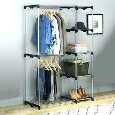 wardrobes small portable wardrobe clothes rack large size of closet heavy duty storage