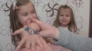 детские татуировки переснимки смотреть обзор игрушки