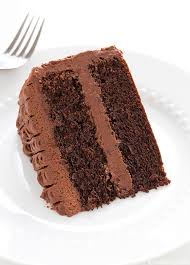chocolate cake with frosting. Unique With Chocolate Cake With Buttercream Frosting  Cooking Classy To With