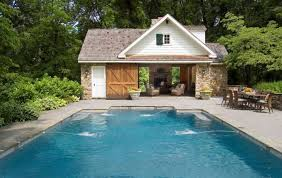 16 Fascinating Pool House Ideas  Home Design LoverSmall Pool House Designs
