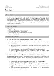 A Good Resume Format Good Resume Formats Resume Samples