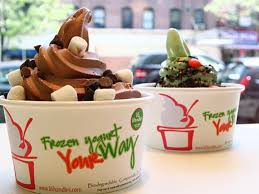 Froyo Vending Machine Cost Inspiration Frozen Yogurt Outfit Laps Up Real Estate