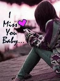 miss you baby flirty