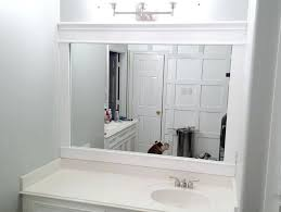 framing a bathroom mirror with crown molding pictures add moulding mirror frame molding framing a bathroom bathroom mirror frame molding