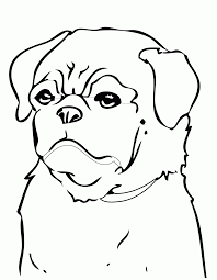 Small Picture Printable Pug Coloring Pages Coloring Coloring Pages