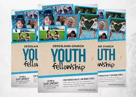 church invitation flyers youth fellowship church flyer inspiks market