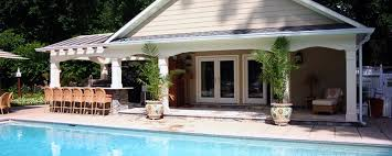 enchanting small pool house designs reference of maryland md custom design e installation va
