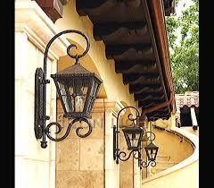 iron outdoor lighting