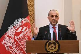 نائب الرئيس الأفغاني المستقيل أمر الله صالح يعلن نفسه رئيساً للبلاد