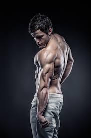man with muscles and fitness hd picture 04