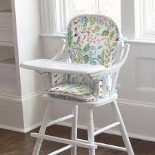79 00 love bird damask high chair pad
