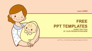 Newborn Infant Medical Powerpoint Templates