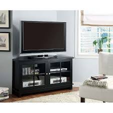 Tv Stands 48 Inches Black Veneer Corner TV Stand Inch Overstock Shopping Inch Wide Tv Stand N5