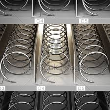 Vending Machine Coils Extraordinary Front View Of Vending Machine GL Stock Images