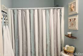 seaside bathroom z fascinating beach themed bathroom design ideas with blue stripe curtai