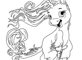 Unicorn Coloring Pages Rainbow Sheets Pictures To Print Scihostco