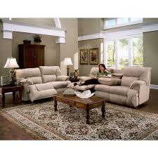Overstock Living Room Sets Franklin Tristin Beige Microfiber Dual Reclining Sofa Love Set