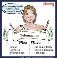 telemachos in the odyssey character analysis