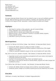 Student Athlete Resume Best Download Our Sample Of Styles College Athlete Resume Template