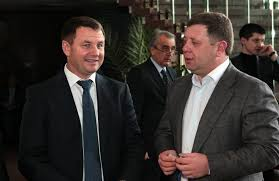 Alexander Spector, CEO of DF Agro (Synkiv) and Ivan Semenyuk, CEO ...