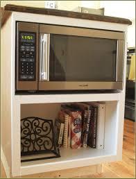 Microwave Furniture Cabinet Under The Cabinet Microwave Shelf Best Home Furniture Decoration