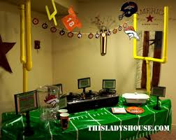 Cheap Super Bowl Decorations The Ultimate Super Bowl Party This Lady's House 29