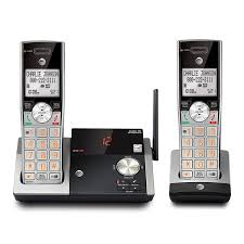 at t cl82215 dect 6 0 cordless answering system with 2 handsets