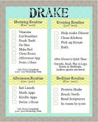 Chore Lists For Teens Summer Chore Chart And Schedule For Teens Free Download
