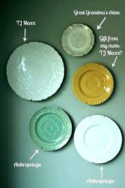 decorative plates for wall hanging india on plate design ideas wa