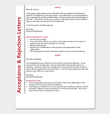 Rejection Letter Template 38 Free Samples Formats