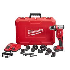 milwaukee m18 logo. milwaukee m18 18-volt lithium-ion cordless force logic 6t knockout tool kit-2677-20 - the home depot logo