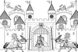 Disegno Di Il Castello Di Re Artù Da Colorare Disegni Da Colorare