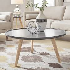 Hayden Mid-Century Round Coffee Table by iNSPIRE Q Modern - Free Shipping  Today - Overstock.com - 25457518