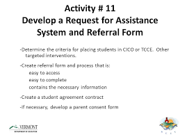 Student Agreement Contract Most Promising Targeted Interventions - ppt download
