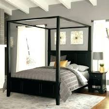 Canopy Bed With Curtains Canopy Bed Curtains King – shopforchange.info