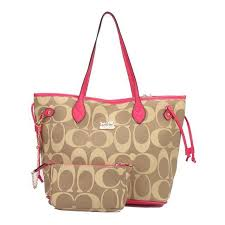 Coach Legacy In Monogram Medium Khaki Totes DCI Give You The Best feeling!