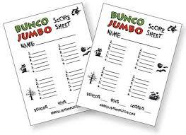 Free Halloween Bunco Score Cards! | Games | Pinterest | Halloween ...