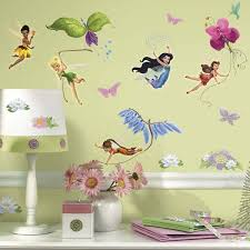 disney fairies wall stickers by roommates
