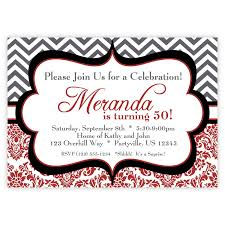 fullsize of trendy black birthday invitations red black party invitations red red black party invitations red