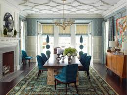 an elegant formal dining room