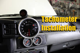 how to install a tach tachometer installation autometer how to install a tach tachometer installation autometer greddy